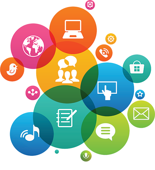 content marketing icons